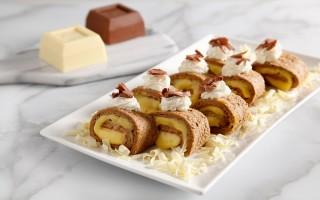 Ricetta girella al cacao con crema al cioccolato bianco