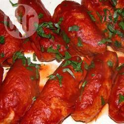Braciole di pollo al sugo di pomodoro