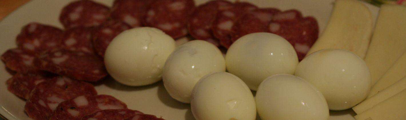 Ricetta salame e uova sode