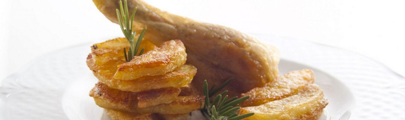 Ricetta pollo al forno con le patate