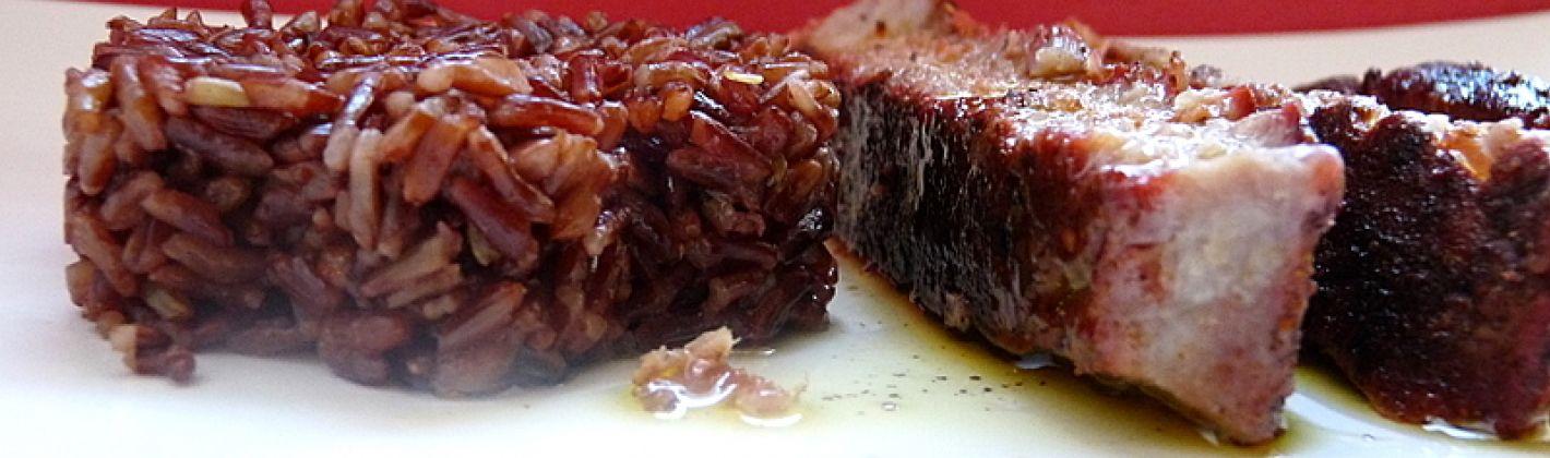 Ricetta insalata di pesce e riso rosso
