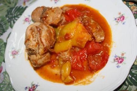 Ricetta coniglio con i peperoni