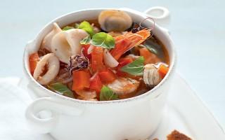 Ricetta brodetto di pesce con peperoni