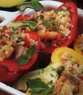 Ricetta peperoni ripieni di cous cous
