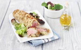Ricetta filetto di tonno in crosta