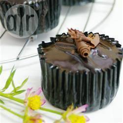 Cupcake al cioccolato e caffè