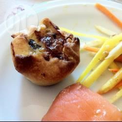 Tartellette salsiccia e funghi