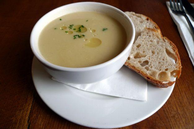 Ricetta zuppa di sedano rapa