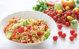 Ricetta insalata di pomodori e cereali