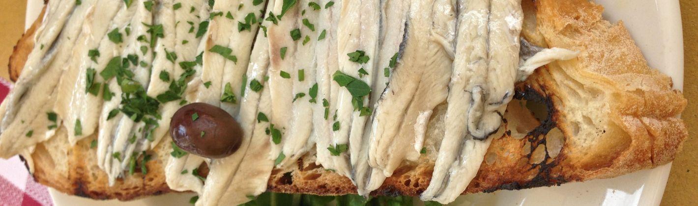 Ricetta alici al forno profumate all'aceto