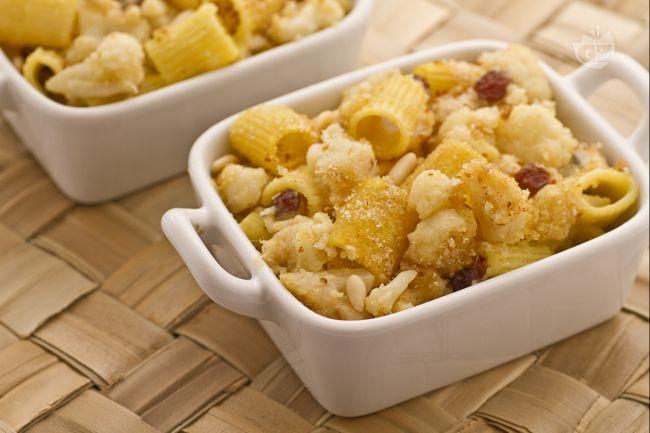 Ricetta pasta gratinata con cavolfiore