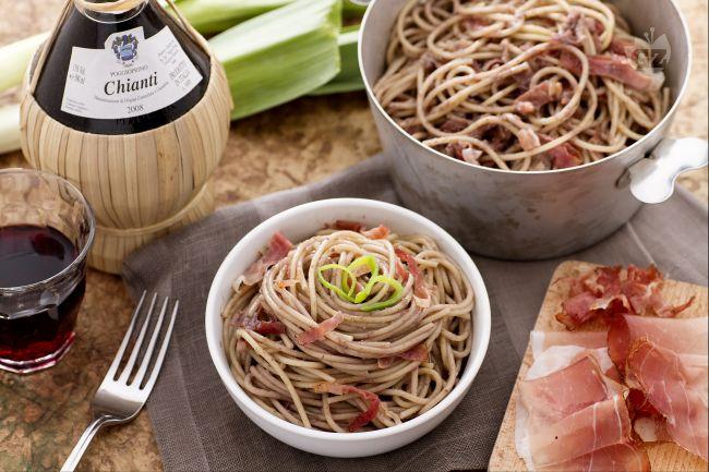 Ricetta spaghetti al chianti