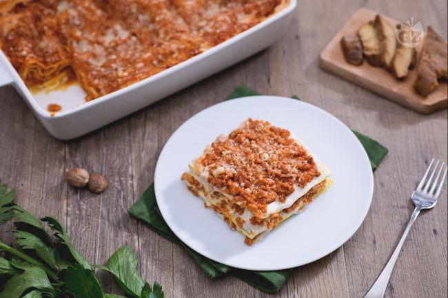 Ricetta lasagne al ragù di seitan