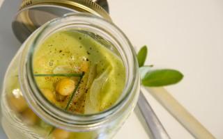 Ricetta crema di broccolo, ceci e cipolla in barattolo