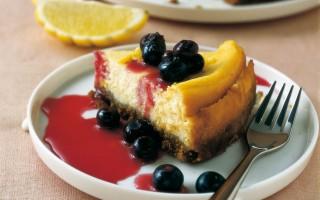 Ricetta cheesecake alla ricotta e mirtilli