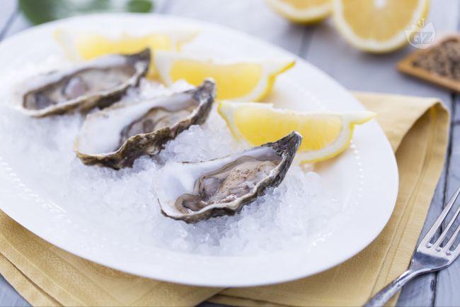 Ricetta ostriche limone e pepe