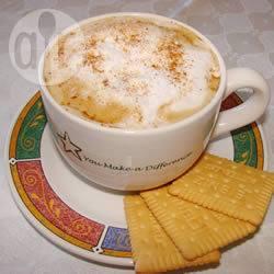 Caffellatte speziato (spiced pumpkin latte)