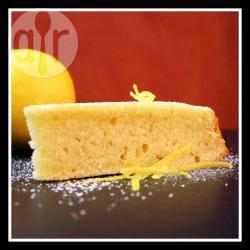 Torta morbida alla scorza di limone