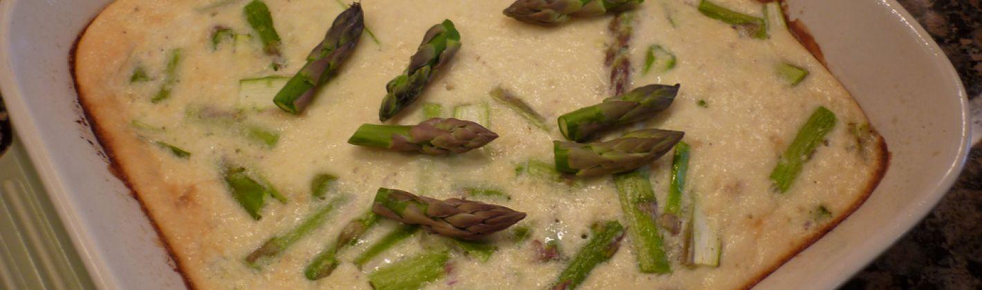 Ricetta gratin di asparagi al formaggio