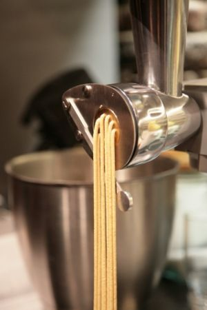 Ricetta bigoli con spinaci e pancetta