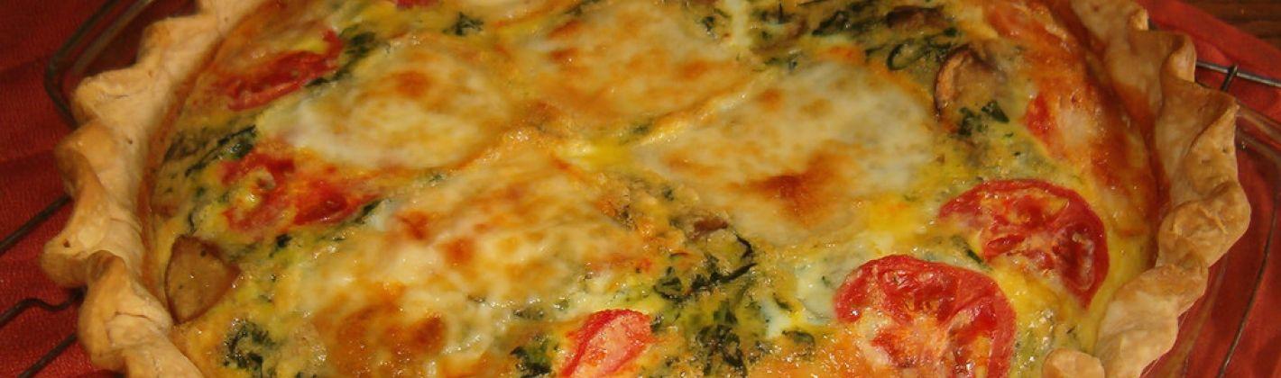 Ricetta torta salata con ortaggi