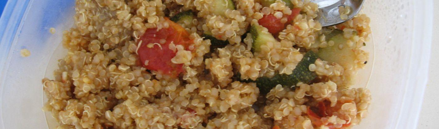 Ricetta quinoa con zucchine
