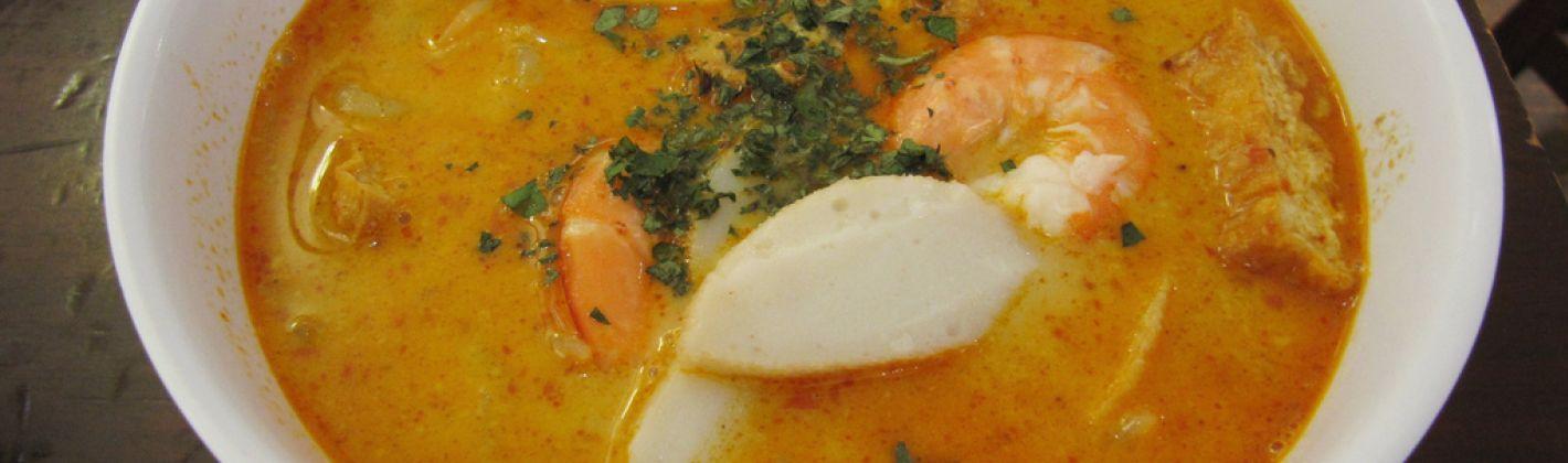 Ricetta vellutata di pesce al curry