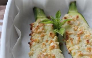 Ricetta zucchine ripiene con crema di patate alla menta