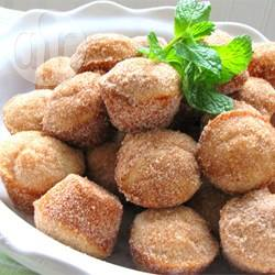 Donut muffins  muffin rotolati nello zucchero