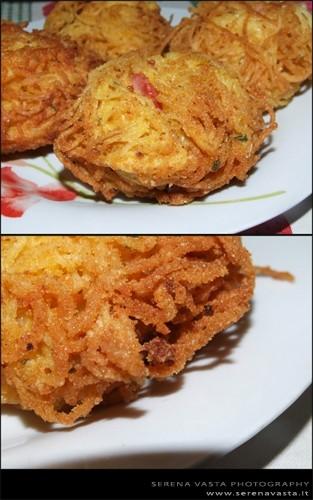 Ricetta nidi di spaghetti