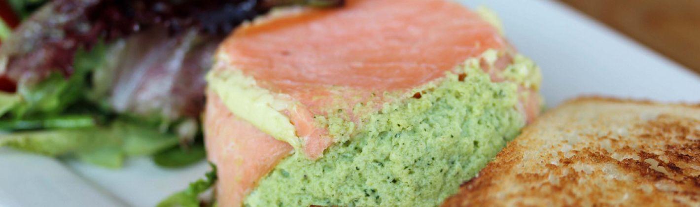 Ricetta timballini di salmone e zucchine
