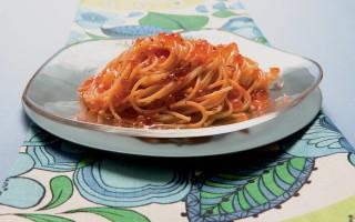 Ricetta spaghetti del lago