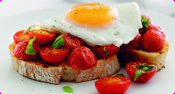 Crostini di uova