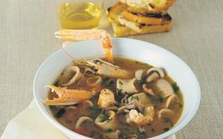 Ricetta zuppa di calamaretti
