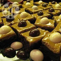 Brownies con liquore al caffè