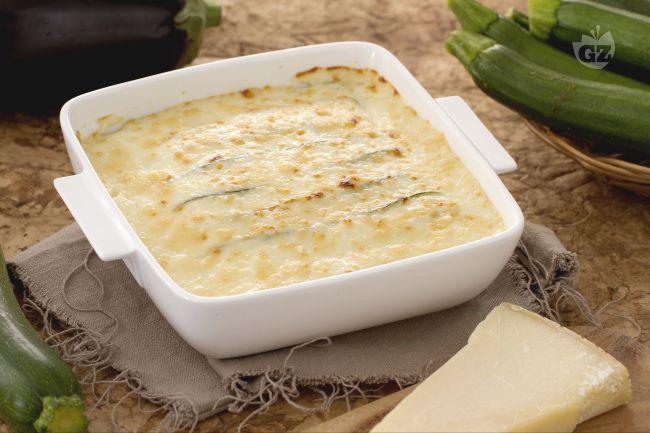 Ricetta parmigiana bianca di verdure e parmigiano