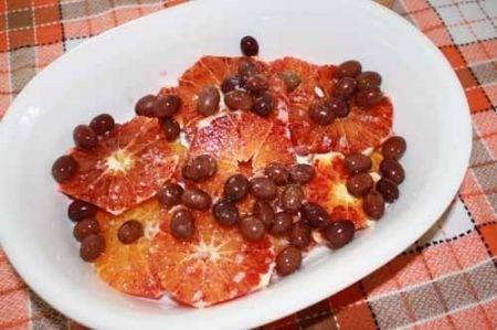 Ricetta insalata arance ed olive nere