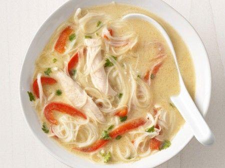 Ricetta zuppa di pollo e spaghetti