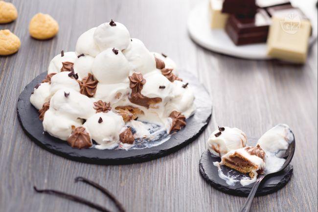 Ricetta profiteroles al cioccolato bianco