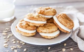Ricetta biscotti all'avena ripieni