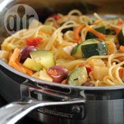 Spaghetti con verdure