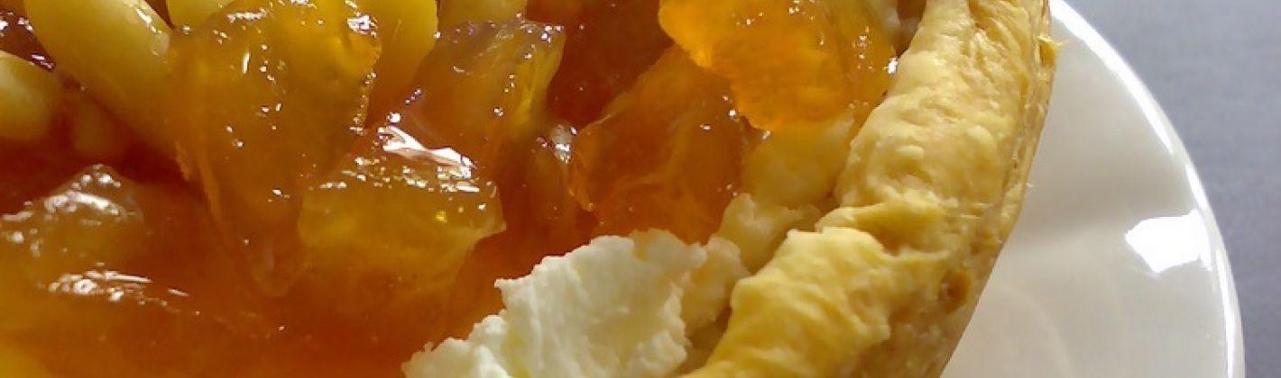 Ricetta tartellette con l'arancia