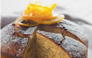 Ricetta torta al limone e miele con semi di papavero