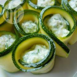 Turbantini di zucchine