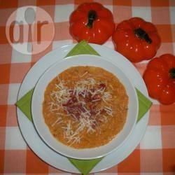 Zuppa rustica di zucca e patate