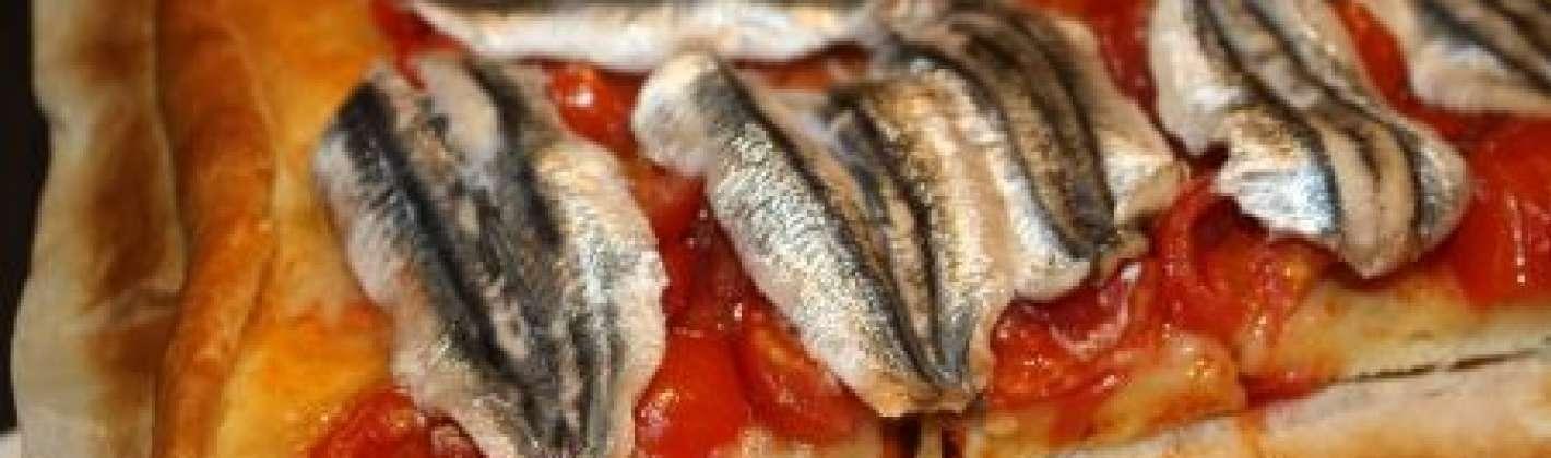 Ricetta pizza alle acciughe fresche senza formaggio