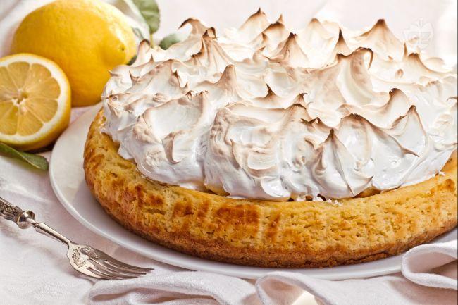 Ricetta cheesecake al limone meringata