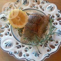 Salmone al limone e rosmarino