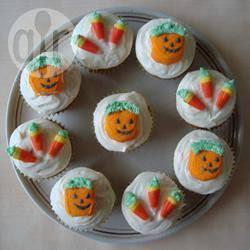 Cupcake di halloween alle carote