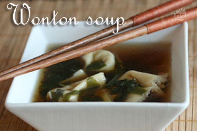 Ricetta wonton soup